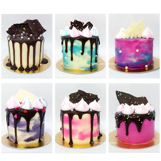 Small Chocolate Cake Design : Mini Cakes   The Miniature Cake Shop